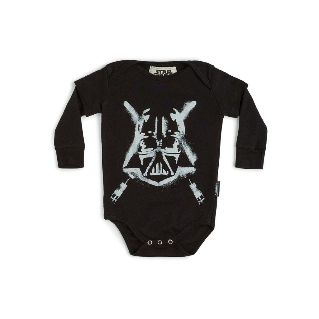 Nununu World Star Wars Darth Vader onesie