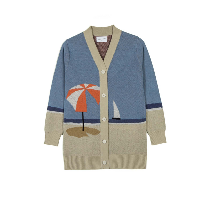 Wolf and Rita Samuel Parasol Knit Cardigan