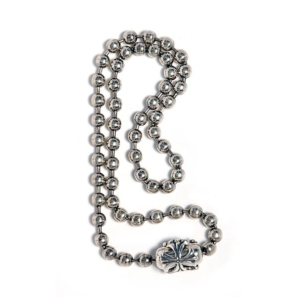 Bill Wall Leather Large Ball Chain Silver 5.5 mm N863