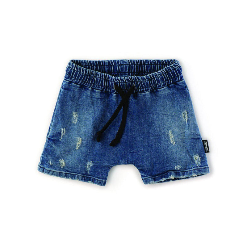 Nununu World Rounded Denim Short