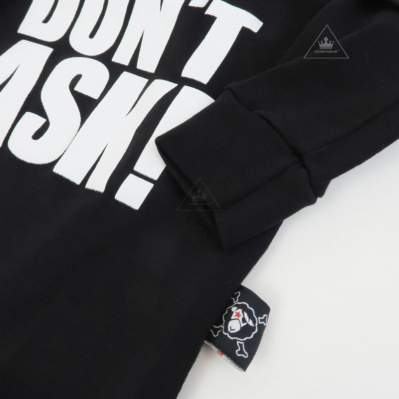 Nununu World Don't Ask! Bodysuit Black
