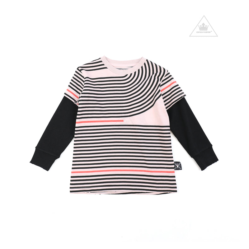 Nununu World Spiral T-Shirt Powder Pink