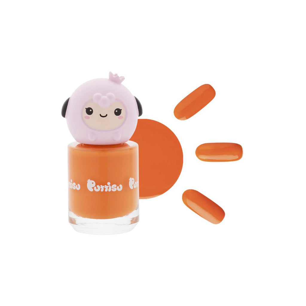 Puttisu Glitter Nail Polish - C19 Cute Baby Tiger