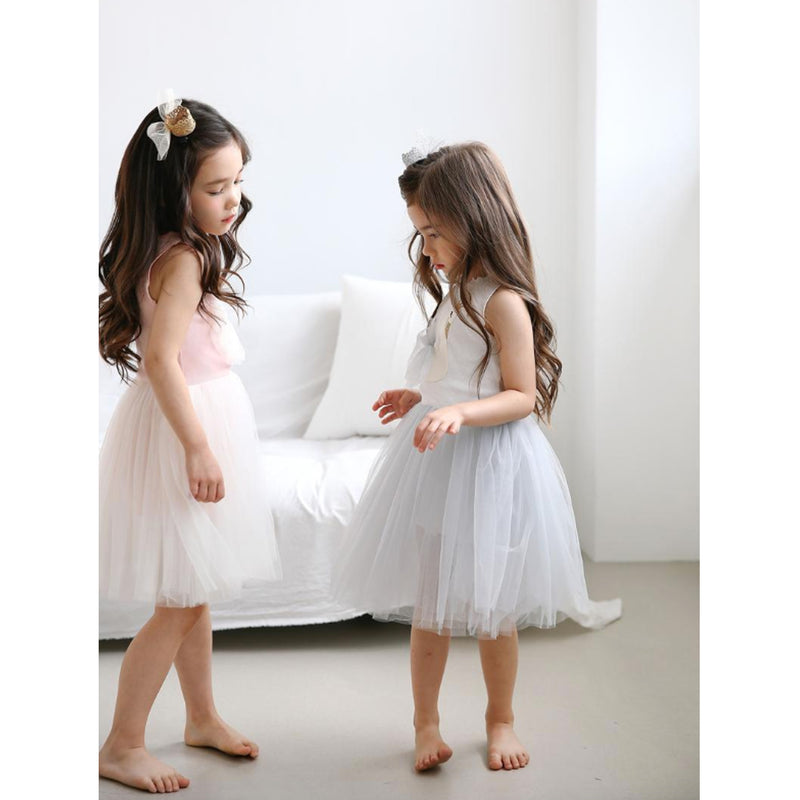 Petite Hailey Swan Tutu Dress Pink