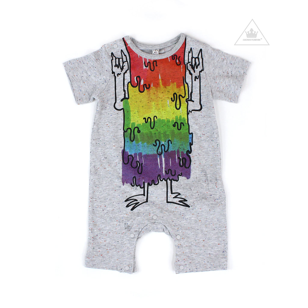 Stella McCartney Baby Boy Rainbow Monster Jumpsuit Early