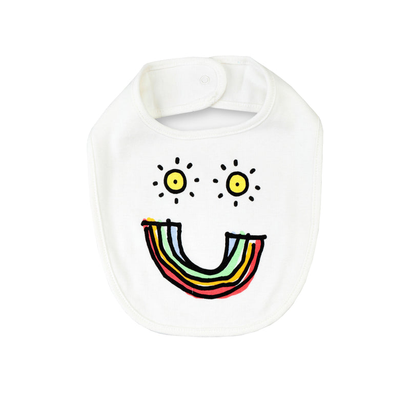 Stella McCartney Baby Cotton Rib Bibs Set