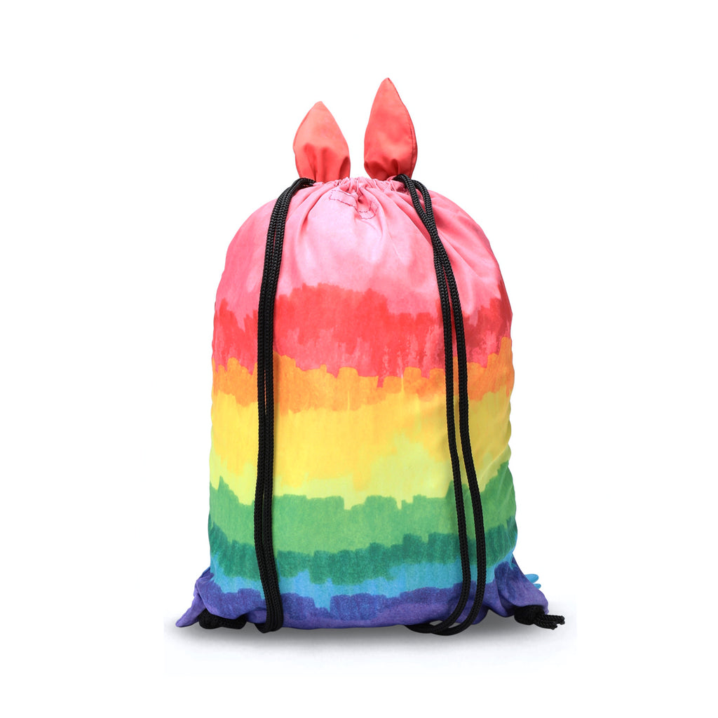 Stella McCartney Kid Rainbow Monster Nylon Bag