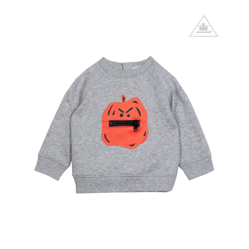 Stella McCartney Baby Pumpkin Cotton Sweatshirt