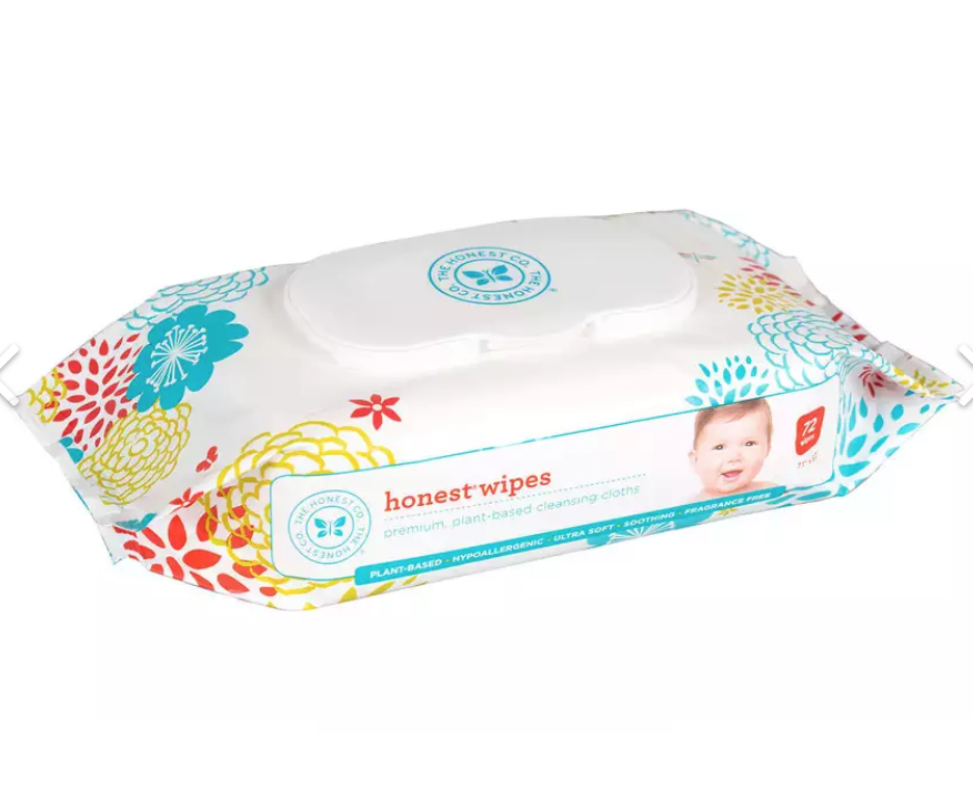 The Honest Company Baby Wipes 72 Count