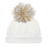 Oh Baby! Hat - Yarn Pom -4 Colors