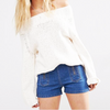 Free People Beach Off Shoulder Slouchy Sweater
