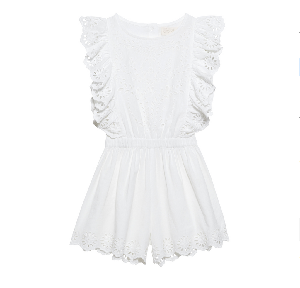 Tutu du Monde INDIAN SUMMER PLAYSUIT - MILK