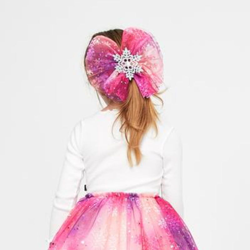 Petite Hailey Snow Bow Blue|Pink