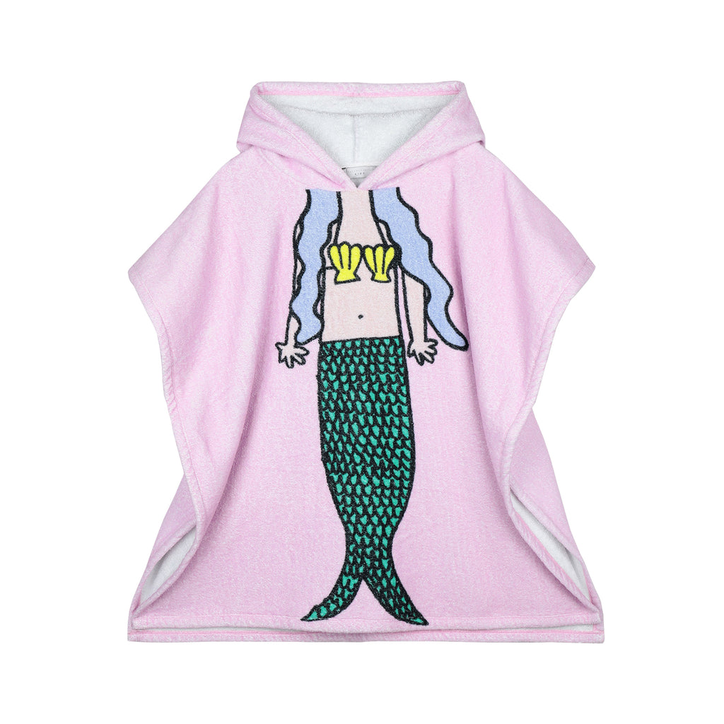 Stella McCartney Kid Girl Mermaid Towel Pink