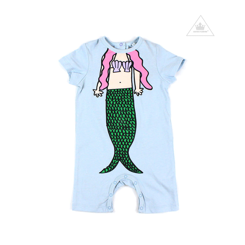 Stella McCartney Baby Girl  Mermaid Print Romper
