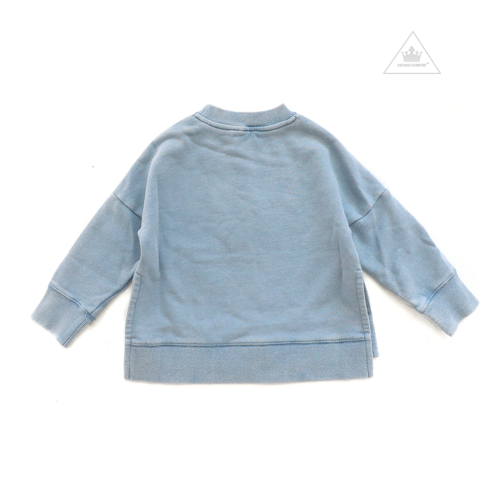 Stella McCartney Kids Girl Sweater with Patches and Badges