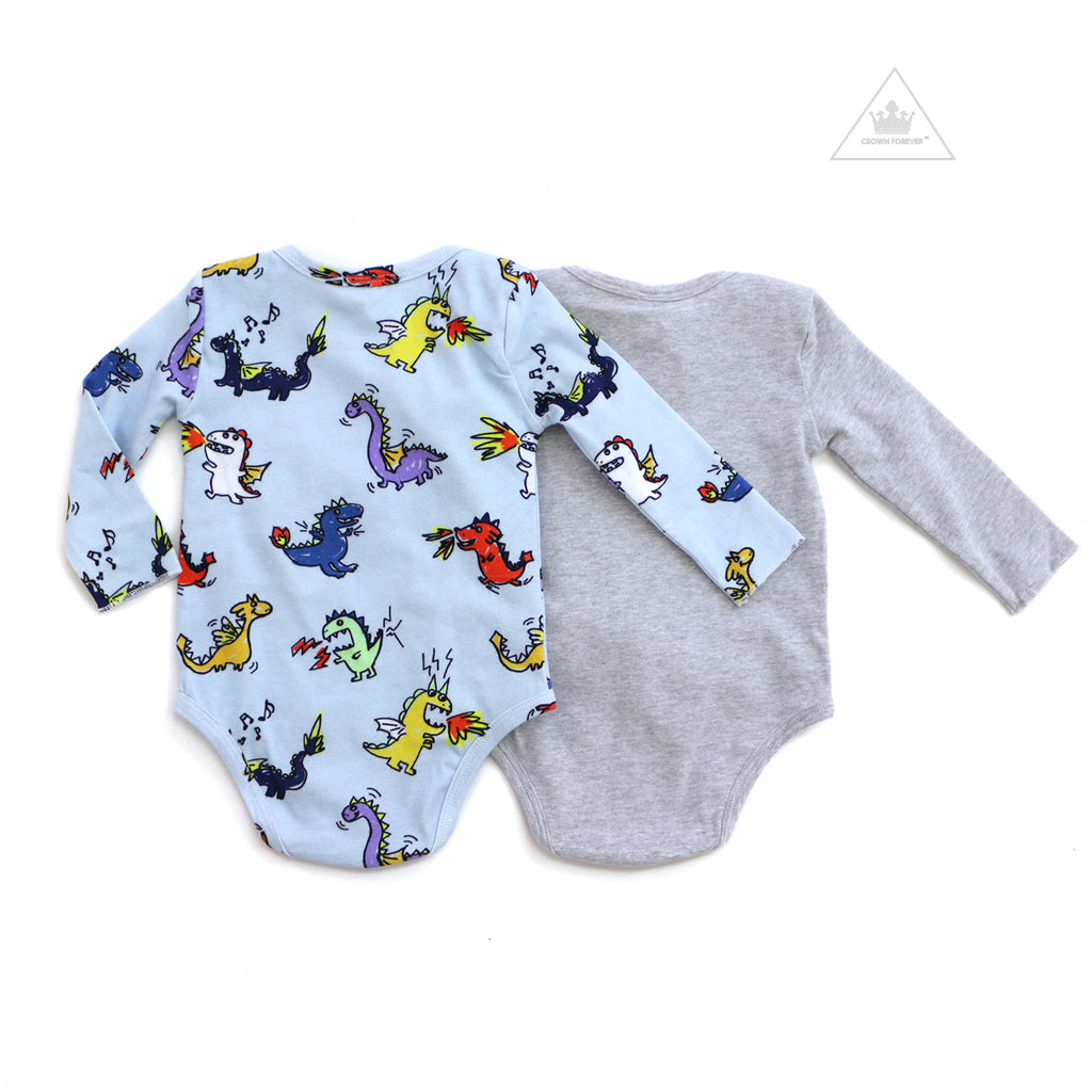 Stella McCartney Baby Boy Two Piece Dragons Bodysuit Box Set