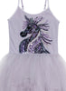 TuTu Du Monde FANTASTICAL UNICORN TUTU DRESS - FOG