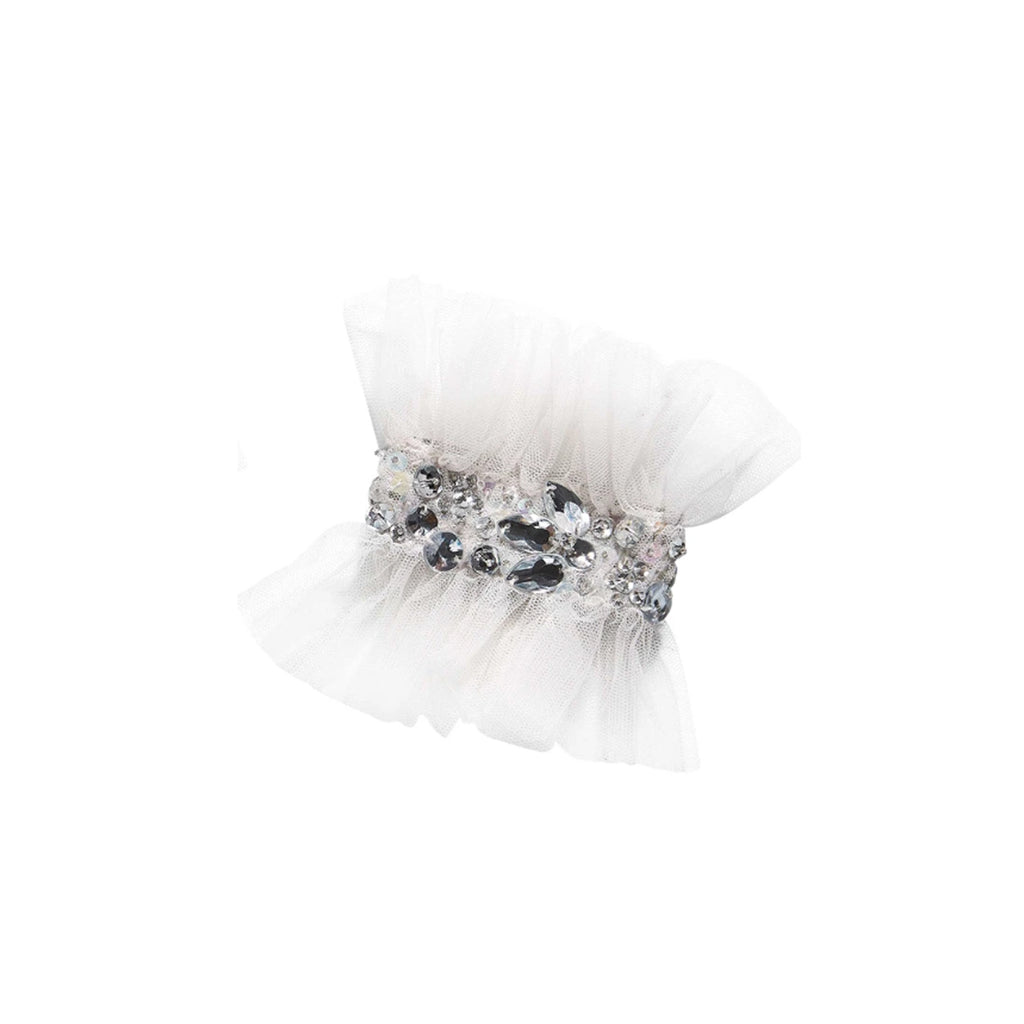 TuTu Du Monde Crystalised Wrist Cuffs Milk