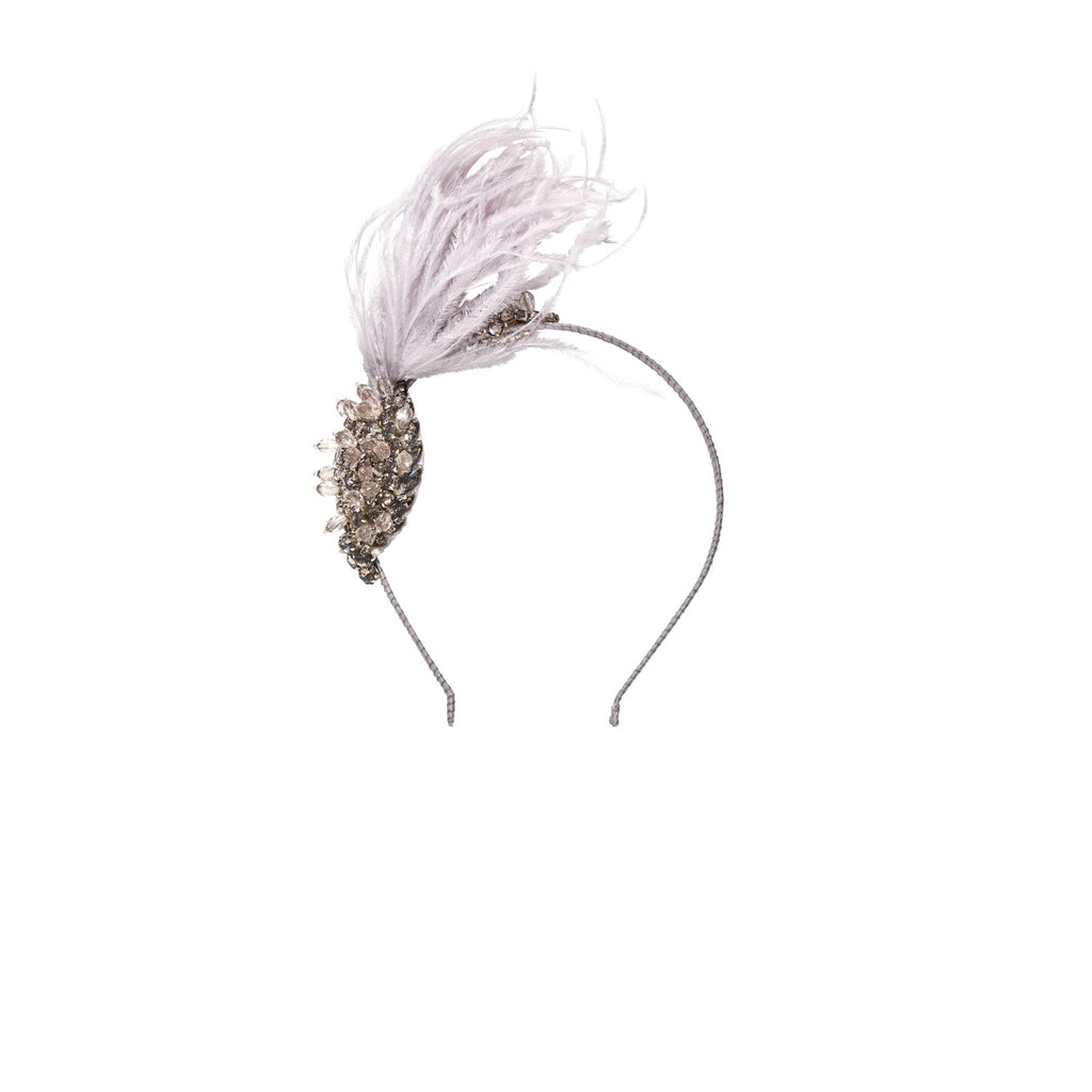 TuTu Du Monde Birds of A Feather Headband French Silver