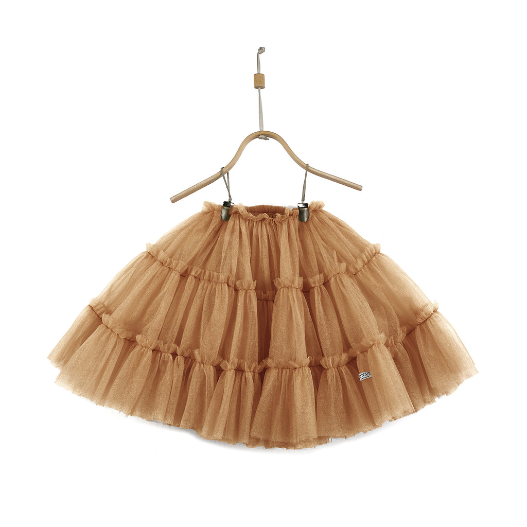 Donsje TESS Skirt Toffee Metallic