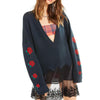 Wildfox Couture Palmetto Roses Sweater