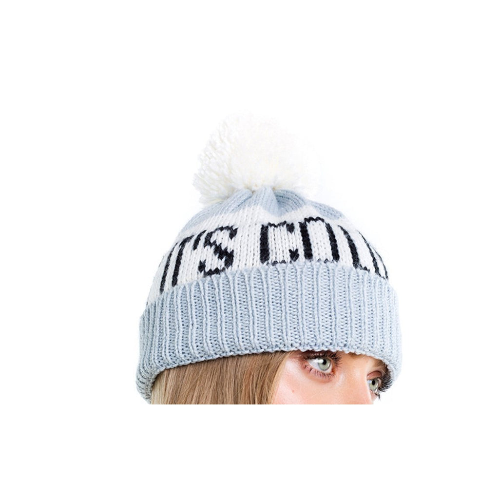 Wildfox Couture Alpine Hat-Baby-Blue Ribbon