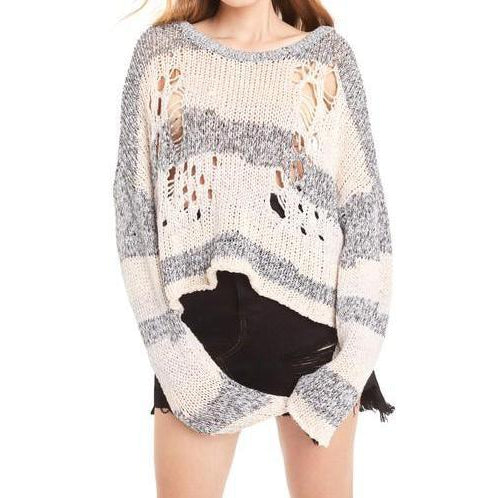 Wildfox Couture Deconstructed Haven Sweater