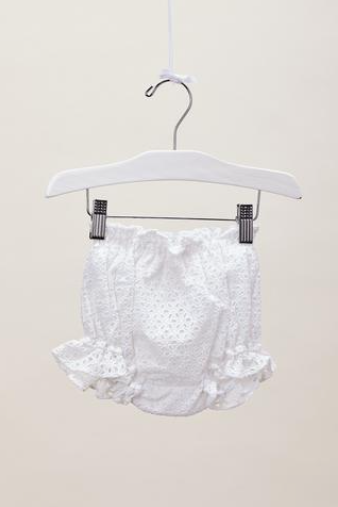 Lil Lemons Eyelet Bloomer Shorts