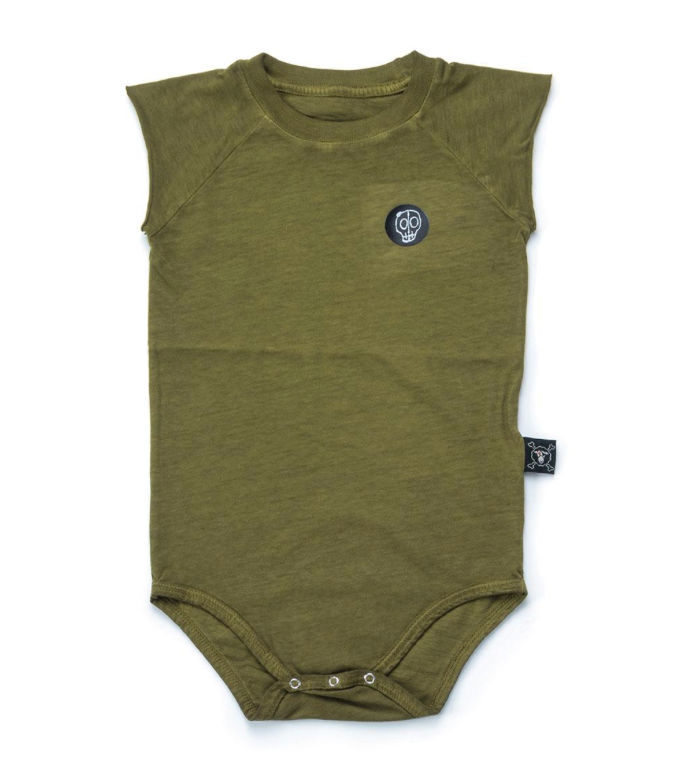 Nununu World Sleeveless Dyed Bodysuit