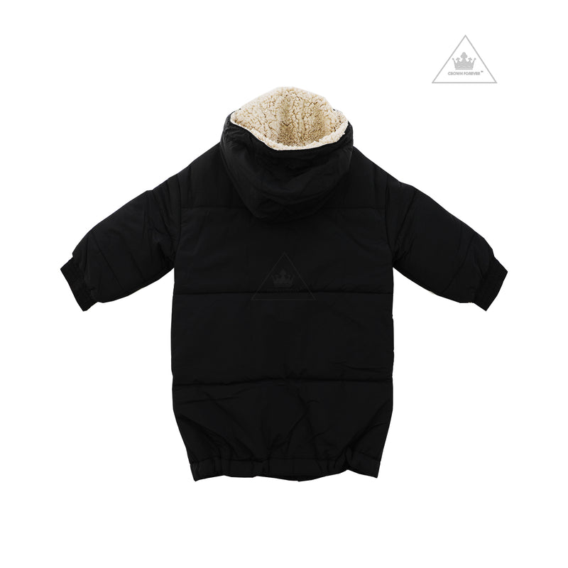 Wynken Puff Up Long Puffa Black