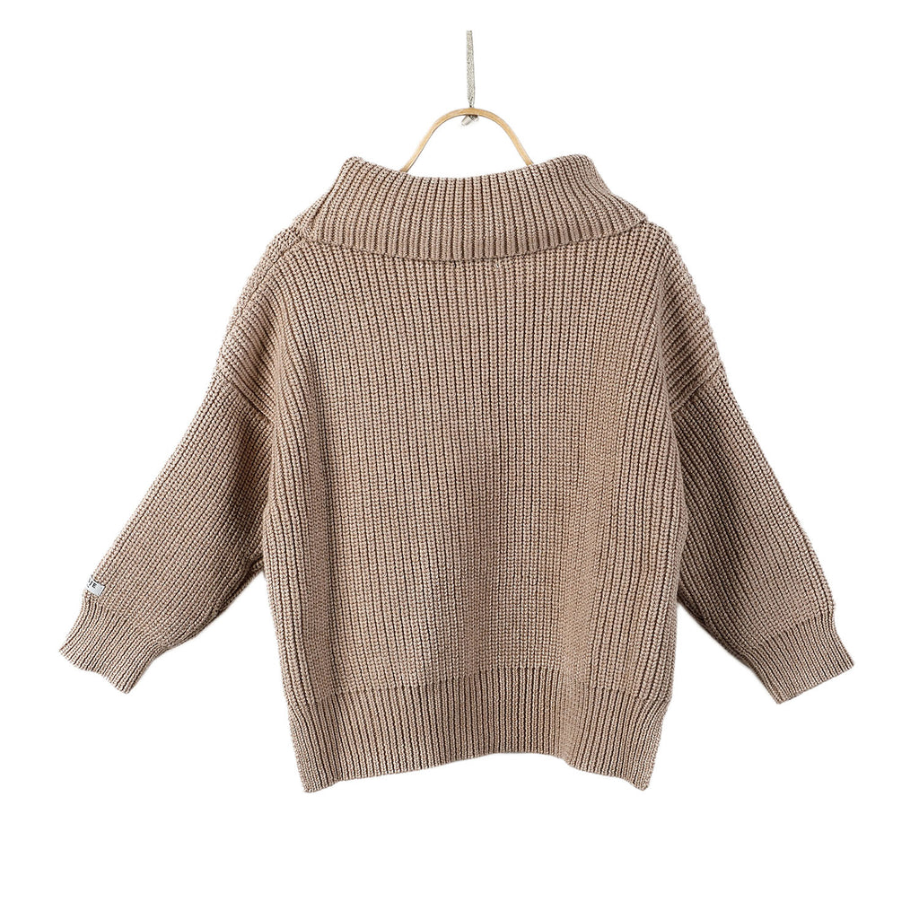 Donsje YARA Sweater Light Mocha Melange