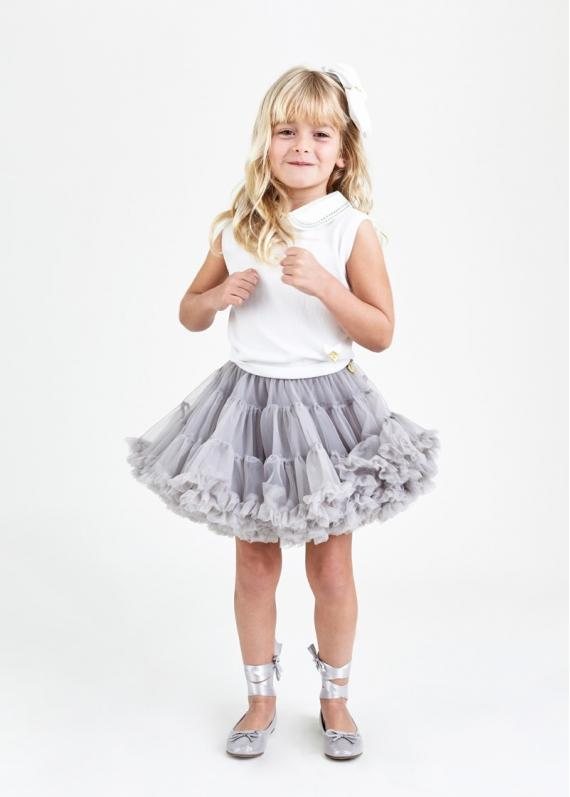 Angels Face Trinity Tutu Ash Grey