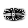 Chrome Hearts Floral Cross Ring