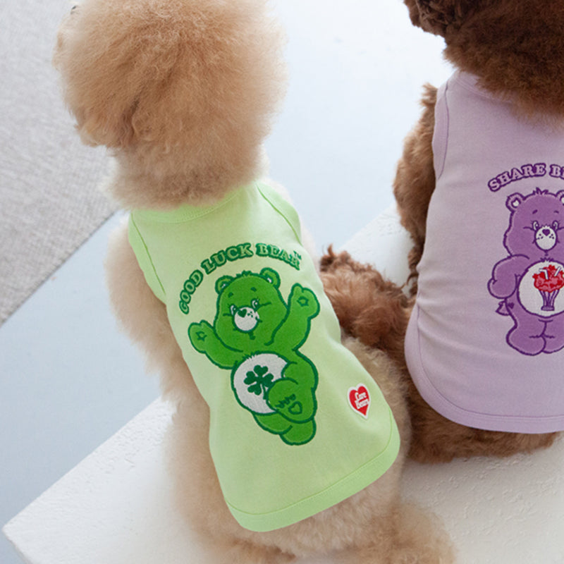 Dan Care Bears T-Shirt _ Good Luck Bear