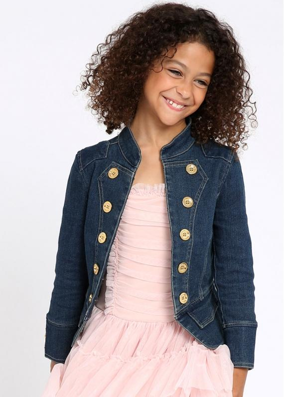 Angels Face Denim Jacket 3-4Y