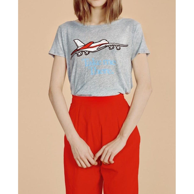 Wildfox Couture Take Me There Traveler's Crewneck Tee