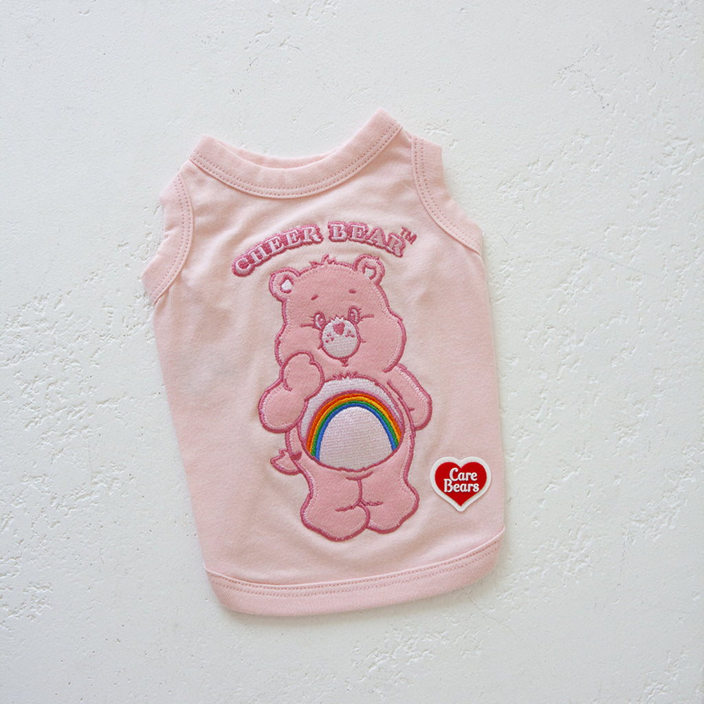 Dan Care Bears Sleeveless _ Cheer Bear
