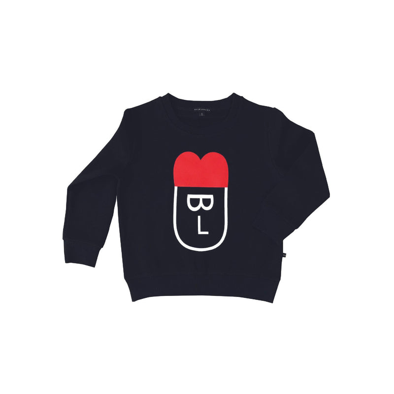 Bulb London 'BULB FACE' SWEATSHIRT