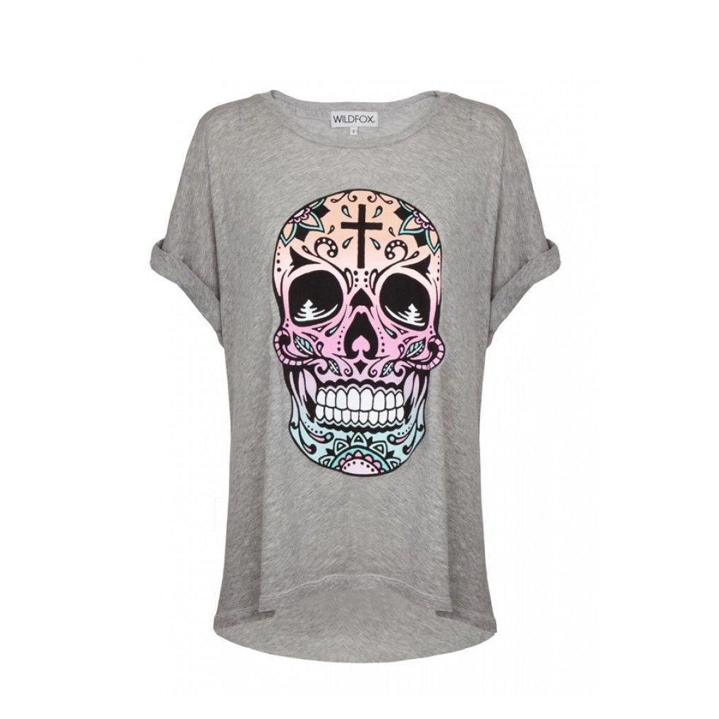 Wildfox Couture Muertes Tee - Vintage Lace