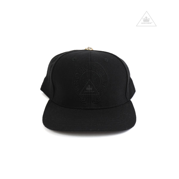Chrome Hearts Horseshoe Denim Baseball Fitted Cap