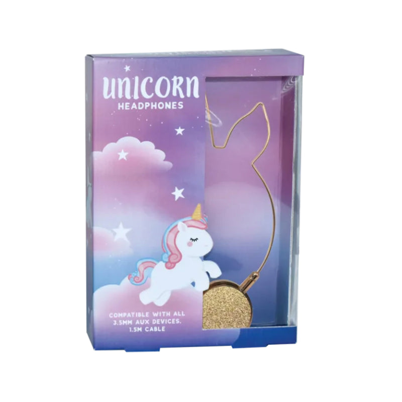 Iscream Unicorn-Shaped Headphones