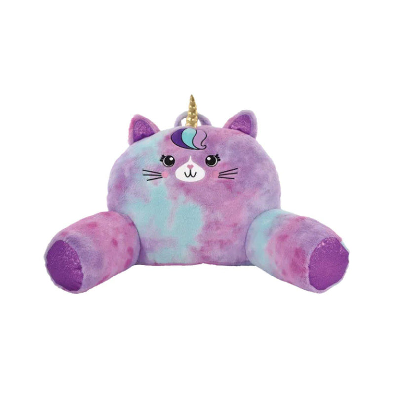 Iscream Caticorn Furry Lounge Pillow