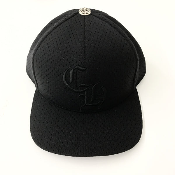 CH Black Perforated Cap