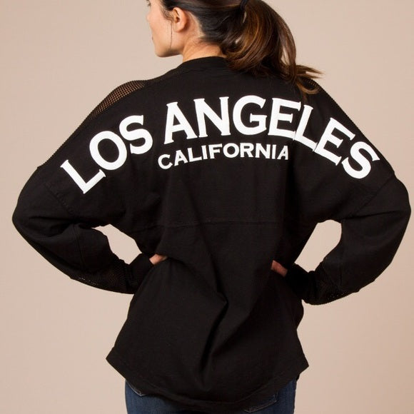 Spirit Jersey Los Angeles Long Sleeve Shirt