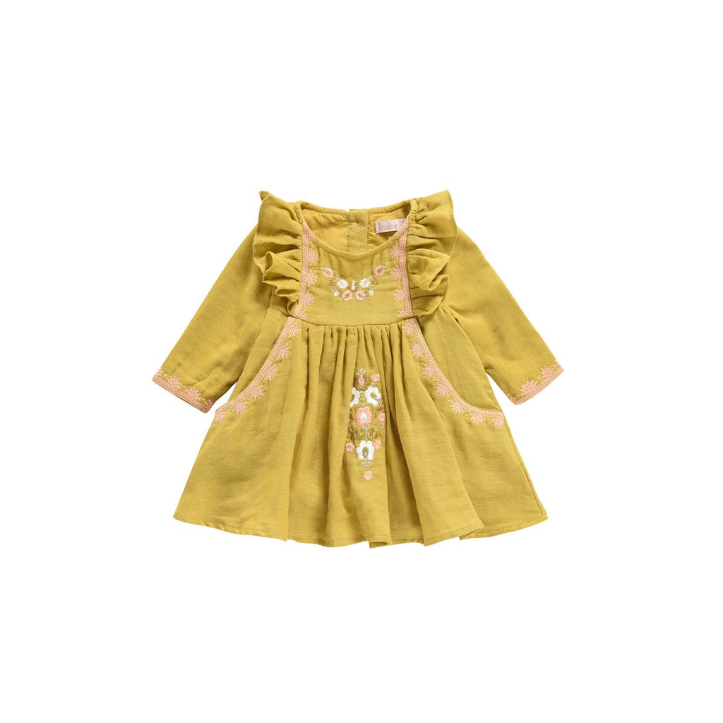 Louise Misha Dress Misloka Beeswax