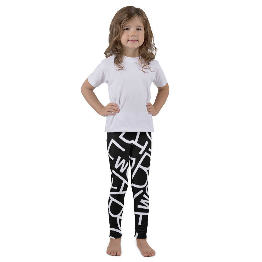 Kid's leggings LETTERS