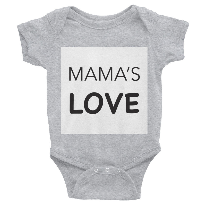 Infant Bodysuit Mama's LOVE