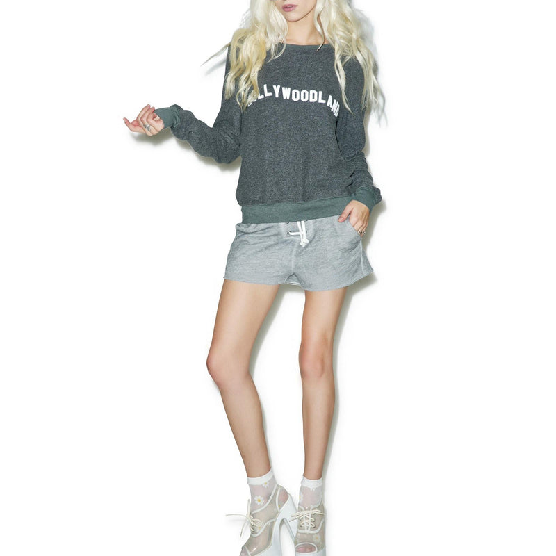 Wildfox Couture Hollywood Land Graphic Sweatshirt