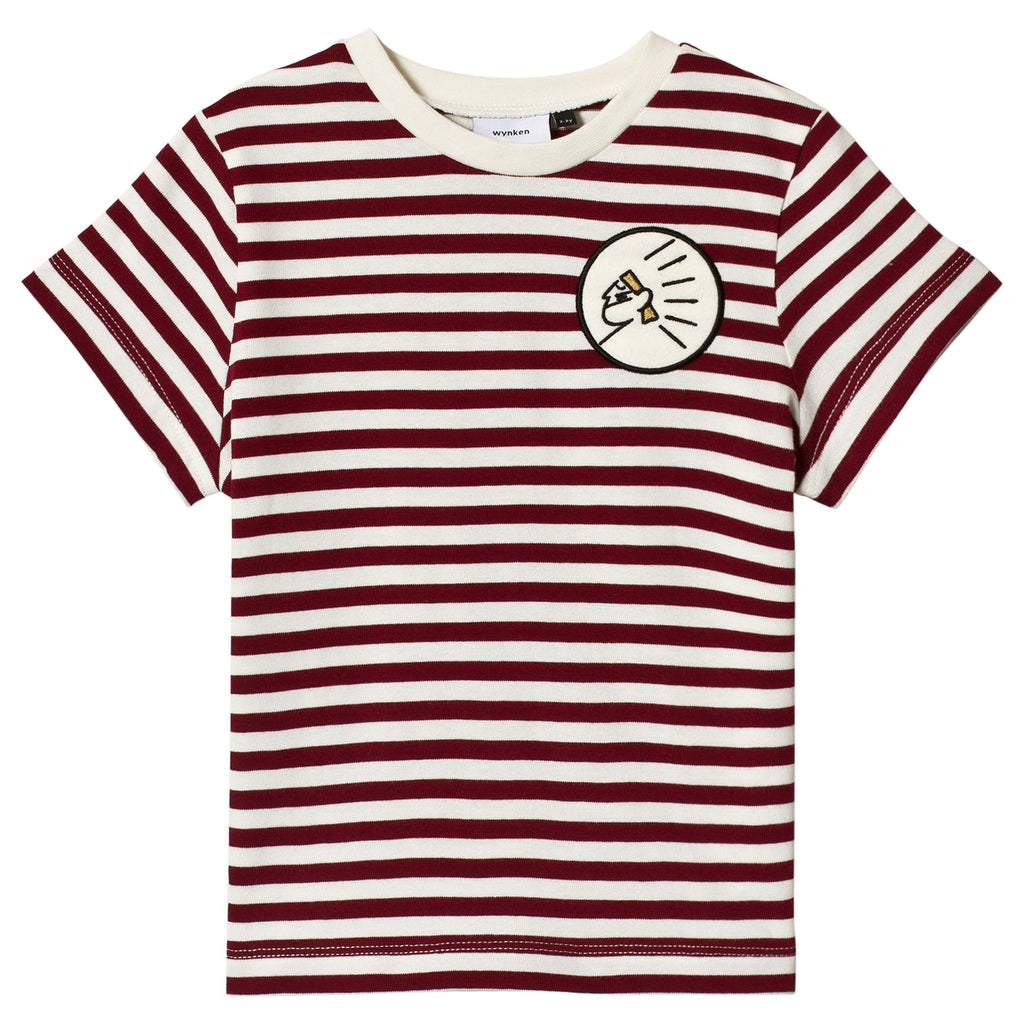Wynken Apache Red and White Striped T-Shirt